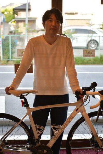 ロードバイクご納車紹介! ウォークライド コンセプトストア厚木